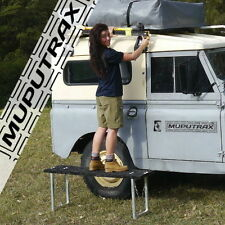 Muputrax - Step Stool for Camping & 4WD - multi-purpose trax for max flexibility