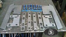 1986-2001 Jeep Cherokee XJ Rear Bumper Brackets DIY Fabrication with hardware
