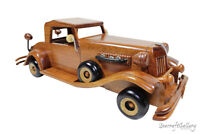 DUESENBERG CAR Wooden Model Handmade Limited Toy Great Present Gift Decoration