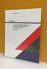 Tektronix 070-8711-02 TDS Family Digitizing Oscilloscopes Reference Manual, New