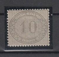 X992/ GERMANY REICH – MI # 12 MINT MNH – CV 180 $