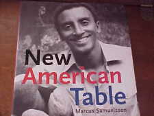 Cookbook MARCUS SAMUELSSON New American Table HARDCOVER Brand New Dust Jacket