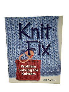 Knit Fix by Lisa Kartus HC Book