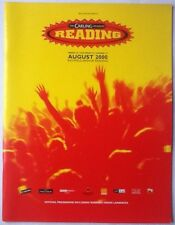 Oasis Foo Fighters Muse Pulp Original Concert Programme Reading Festival 2000
