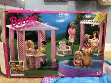 Vintage 1994 Barbie Summertime Fun 67034 with 2 Barbies Dolls