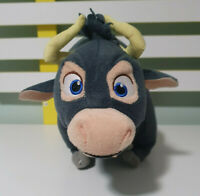 Ferdinand Plush Toy the Bull gray 38cm stuffed animal 2017 Twentieth Century