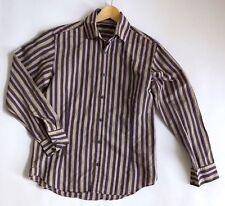 """Mens REISS Long Sleeved Shirt M Chest 42"""" Mens M Designer Shirt"""
