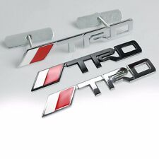 3D Metal TRD Front Grille Badge Decal Sticker Emblem Car Logo Unique SJ