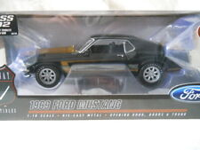 HIGHWAY 61 1969 BOSS 302 FORD MUSTANG SMOKEY TRIBUTE CAR 1 OF 600 1:18 Diecast