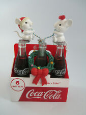 Enesco Coca-Cola Things Go Better With Coke Holiday Christmas Tree Ornament