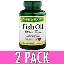 Nature's Bounty Fish Oil 1000 MG Softgels 100 EA