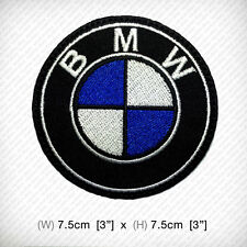 new BMW EMBROIDERED PATCH IRON ON OR SEW decorate clothes, MOTOR SPORTS RACING