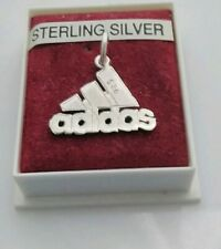 Sterling Silver 925,  Adidas Equipment Pendant ( chain not included )
