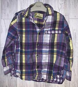 Boys Age 5-6 Years - Next Long Sleeved Shirt