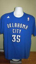 XL Adidas Oklahoma City Thunder Kevin Durant #35 NBA Basketball Jersey T Shirt