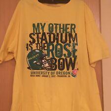 Oregon Ducks 2012 Rose Bowl Champions T-Shirt Men's Xl College Football