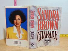 Charade by Sandra Brown (1994, Hardcover) BCE