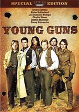 Young Guns 0012236125945 With Charlie Sheen DVD Region 1