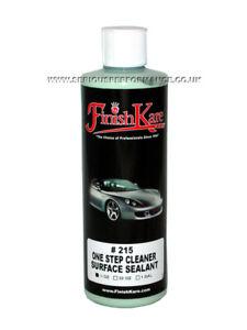 FINISH KARE #215 ONE STEP CLEANER & SURFACE SEALANT - 15oz / 444ml BOTTLE