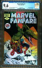 MARVEL FANFARE 1 CGC 9.6 SPIDERMAN X-MEN FRANK MILLER DAREDEVIL