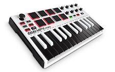 New Akai Professional USB MIDI keyboard 8 pad MPK mini MK2 WHITE Limited