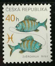 Ceska Republika, 2001 r. ** Mi. 280 ryby fish Fisch