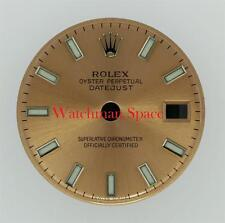 Original Lady Rolex Datejust 179174, 79174 Pink Luminous Stick Dial S/S #A40