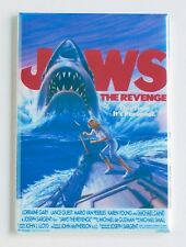 Jaws 4 the Revenge FRIDGE MAGNET (2 x 3 inches) movie poster michael caine