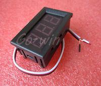 10PCS Green LED Panel Meter Mini Digital Voltmeter DC 0V To 30V NEW GOOD QUALITY