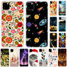 For iPhone 11 Pro Max XS Max XR Slim Silicone Painted Soft Clear TPU Case Cover