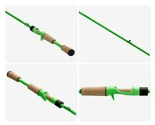 "13 Fishing Fate Black 7' 3"" Medium Heavy Fast One-Piece Casting Rod Brand New"