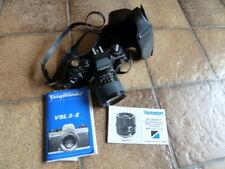 Voigtländer VSL 3-E Kamera mit viel Zubehör:Linsen,3 Objektive,Stativ u.v.m.