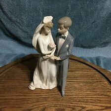 Lladro Bride Groom 5885 'From This Day Forward' Wedding Cake Topper