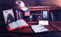 Jack Terry All American Cowboy Art Print  25 x 15