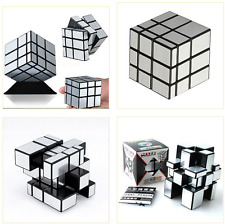 3x3x3 Ultra-Smooth Speed Magic Mirror Cube Puzzle Magnetic Twist Rubik Child Toy