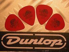 médiators Tortex® Jim Dunlop  Lot de 4 Médiators Tortex Standard 0,50 mm Rouge
