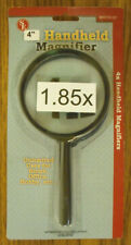 "LOT OF 2 SONA:4"" HAND HELD  MAGNIFIER 1.85 X FOR COINS, STAMPS , ETC #SE-MH7013C"