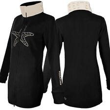 SEESTERN Damen Fleecejacke mit Stehkragen 2WegeZipper Fleecemantel Fleece XS-3XL