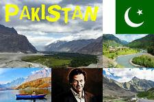 PAKISTAN - SOUVENIR NOVELTY FRIDGE MAGNET / SIGHTS / FLAGS / MAP / GIFTS