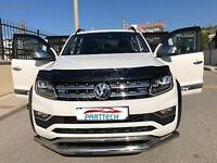 VW AMAROK Onwards 2010 BONNET WIND STONE DEFLECTOR PROTECTOR GUARD - NOT BRA NEW