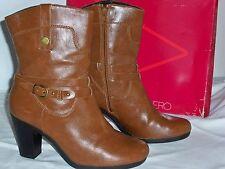 "Aerosoles Women's ""Serial Port"" Ankle High 3"" Heel Tan/Brown Boots 8.5 M"