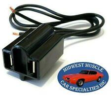 Head Light Lamp Bulb Wiring Harness Socket Sealed High Beam 2 Prong Chrysler D49
