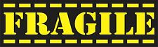 Fragile Bumper Sticker Decal Handle With Care Label Mailing Mail Car Funny as