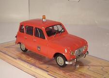 NOREV 1/43 RENAULT 4 L (1963) pompier-FIRE ENGINE-VIGILI DEL FUOCO OVP #127
