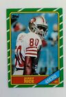 1986 Topps Jerry Rice Rookie Card #161
