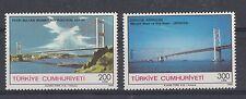 TURCHIA-TURKEY 1988 Inaugurazione ponte Faith Sultan Mehmet e dell'amicizia Mnh