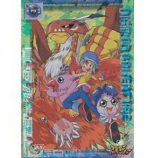 MINT JAPANESE DIGIMON HOLO FOIL PRISM CARD - SORA BIYOMON BIRDRAMON GARUDAMON P3