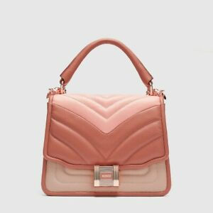 MIMCO PROWESS DAY BAG Peach Gin RRP$450 New Pink Rose Gold Handbag
