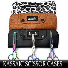 Kassaki Hairdressing Scissors Case Pouch - Holds 4 Salon Barber Shears-Razors