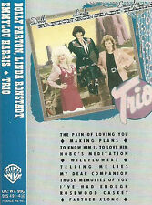 DOLLY PARTON EMMYLOU HARRIS LINDA RONSTADT TRIO CASSETTE ALBUM ALBERT LEE